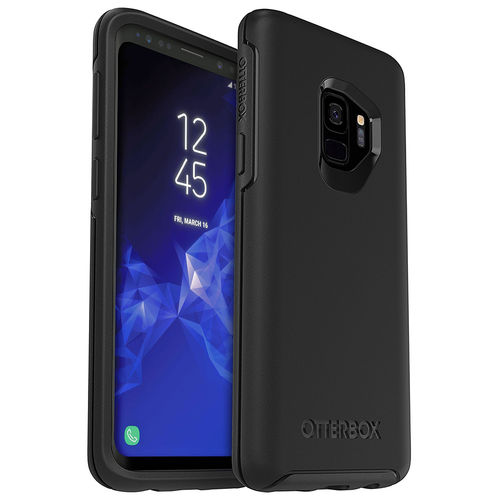 OtterBox Symmetry Ultra-Slim Case for Samsung Galaxy S9 - Black
